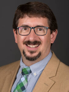 Photo of Dr. James Boulter, professor of chemistry and biochemistry, and public health and environmental studies
