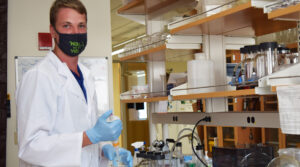Photo of Tyler Kunze is now a graduate student conducting research with UWM's Harvey Bootsma.