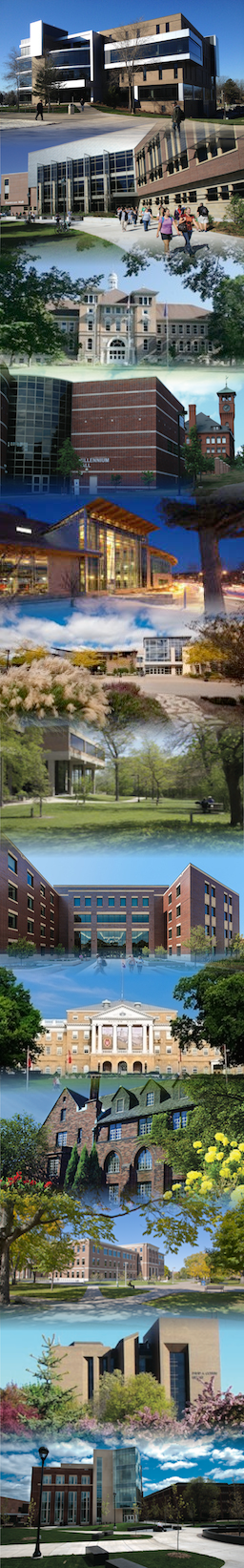 Banner of Iconic Campus Images