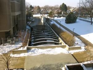 UW-Milwaukee Chemistry Loading Dock