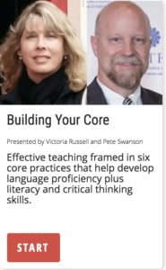 Building Your Core: Effective Teaching framed in 6 core practices