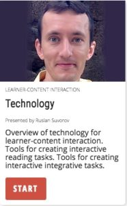 Technology for Learner-Content interaction.