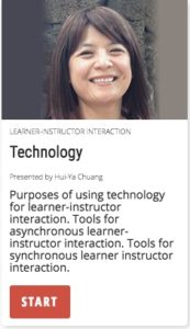 Technology: tools for learner-instructor interactions
