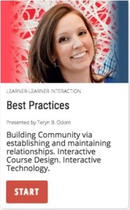 Best Practices: Building community with interactive course design