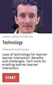 Tehcnology: Learner-learner interaction