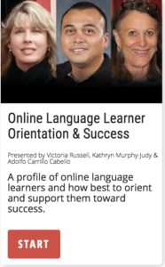Online Language Learner Orientation & Success