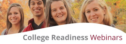 College Readiness Webinars Link