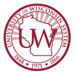 Red UW System Seal