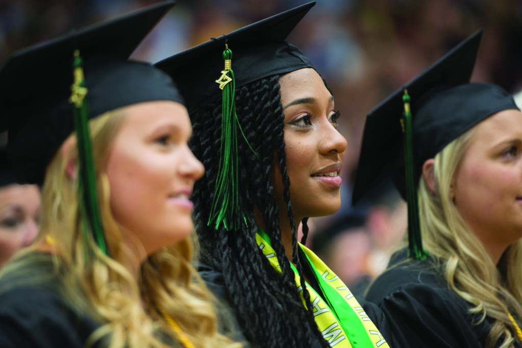 Photo of UW-Parkside graduates