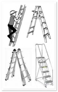 Four ladders