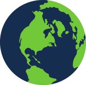 Planet earth graphic