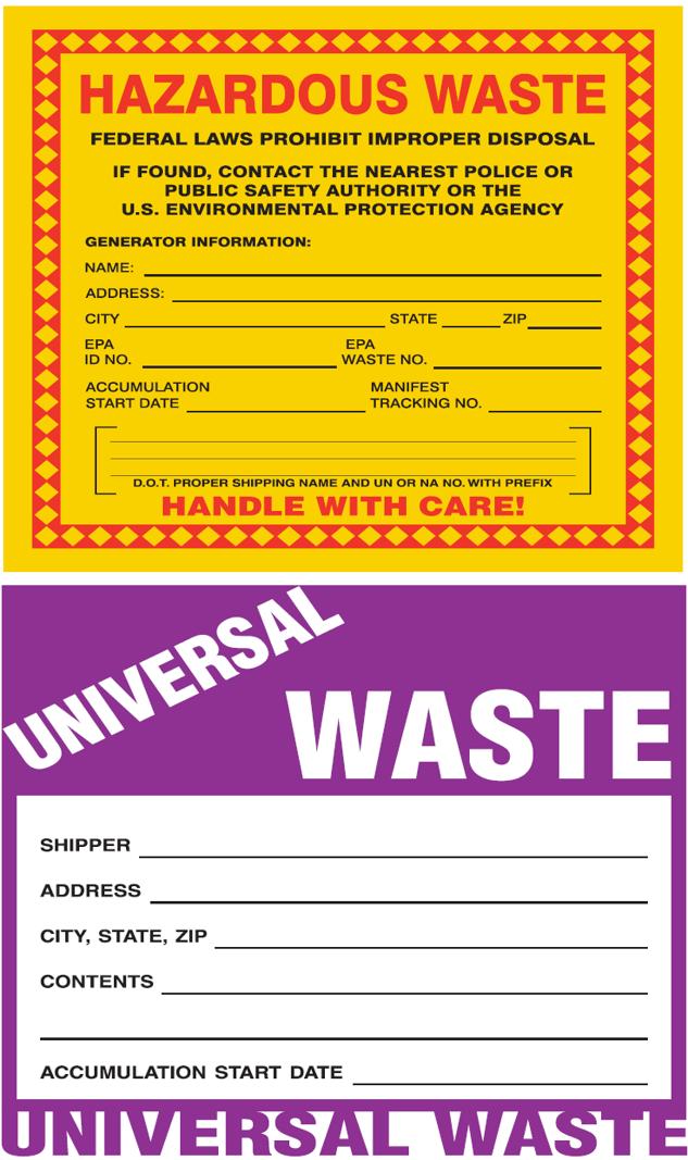 Hazardous Waste Management | Environment, Health & Safety