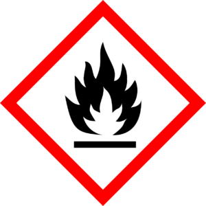 GHS flammable symbol