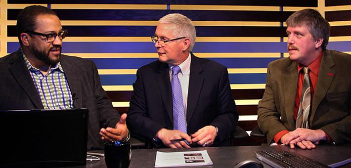professor and business leaders host live webinar