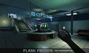 "screen shot of the video game, ""Flash Frozen"""