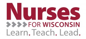 Nurses For Wisconsin logo