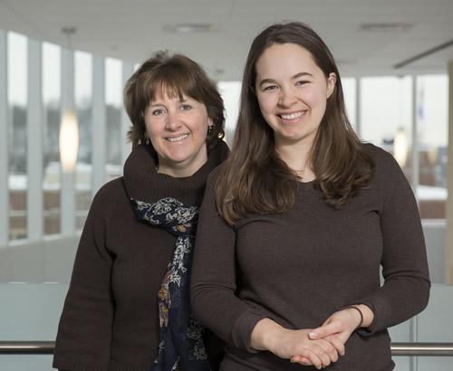 Dr. Cronje and Laurelyn Sandkamp
