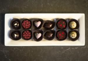 Indulgence Chocolatiers' Valentine's Day collection