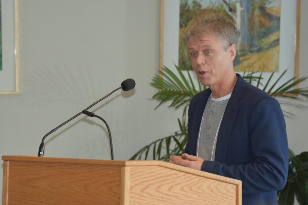 Paul Hooker Speaking