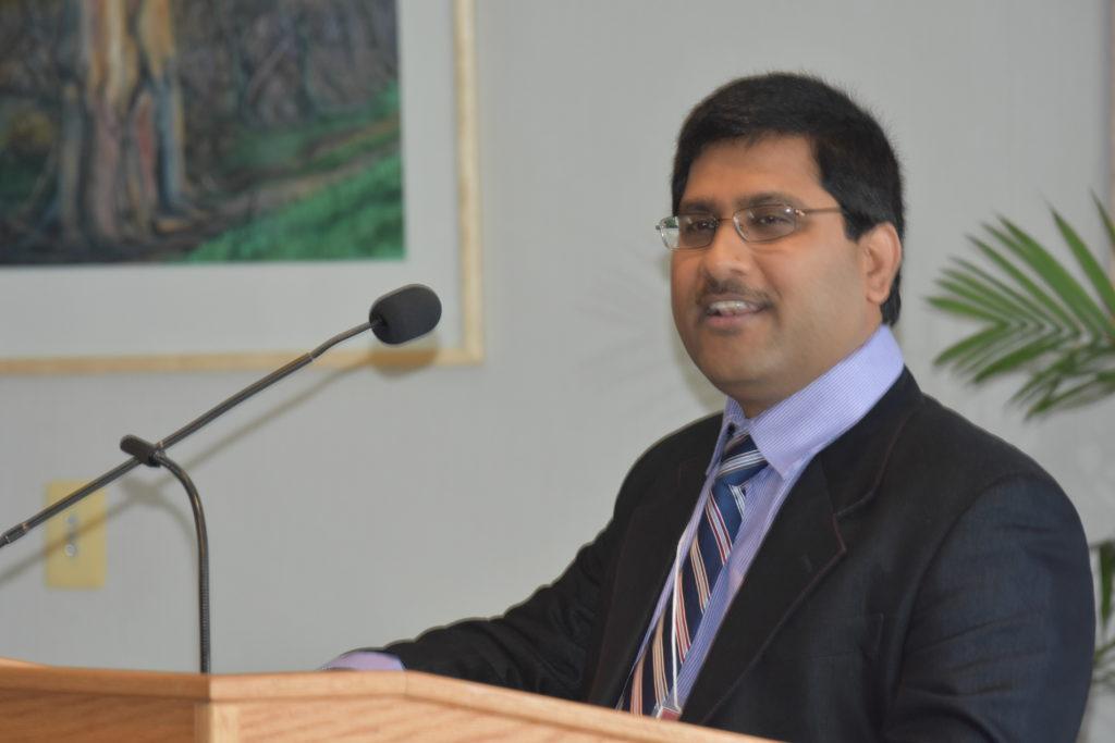 Muthu Venkateschwaran Speaking