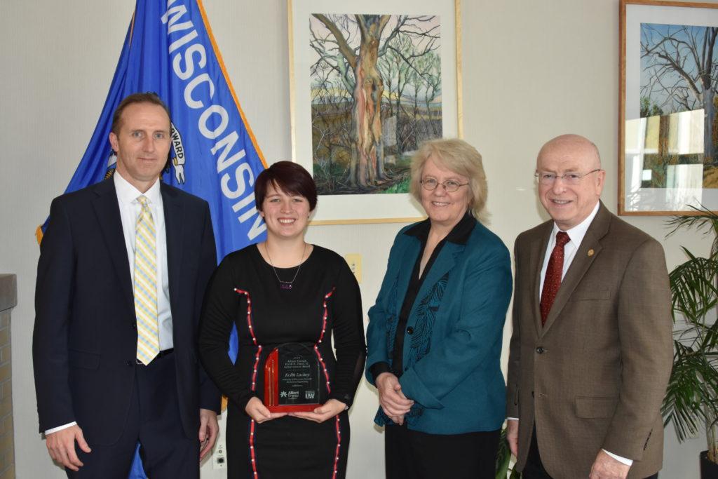 From left: Robert Durian, Kolbi Lackey, Karen Schmitt, Ray Cross