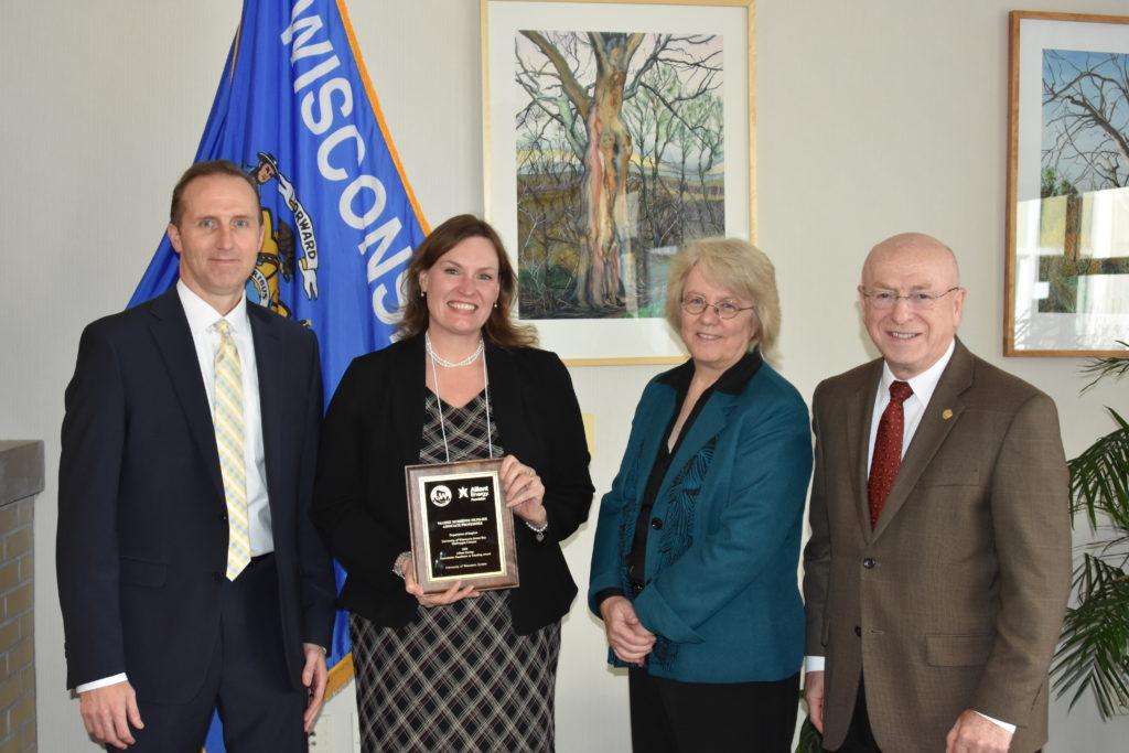 From left: Robert Durian, Valerie Murrenus Pilmaier, Karen Schmitt, Ray Cross