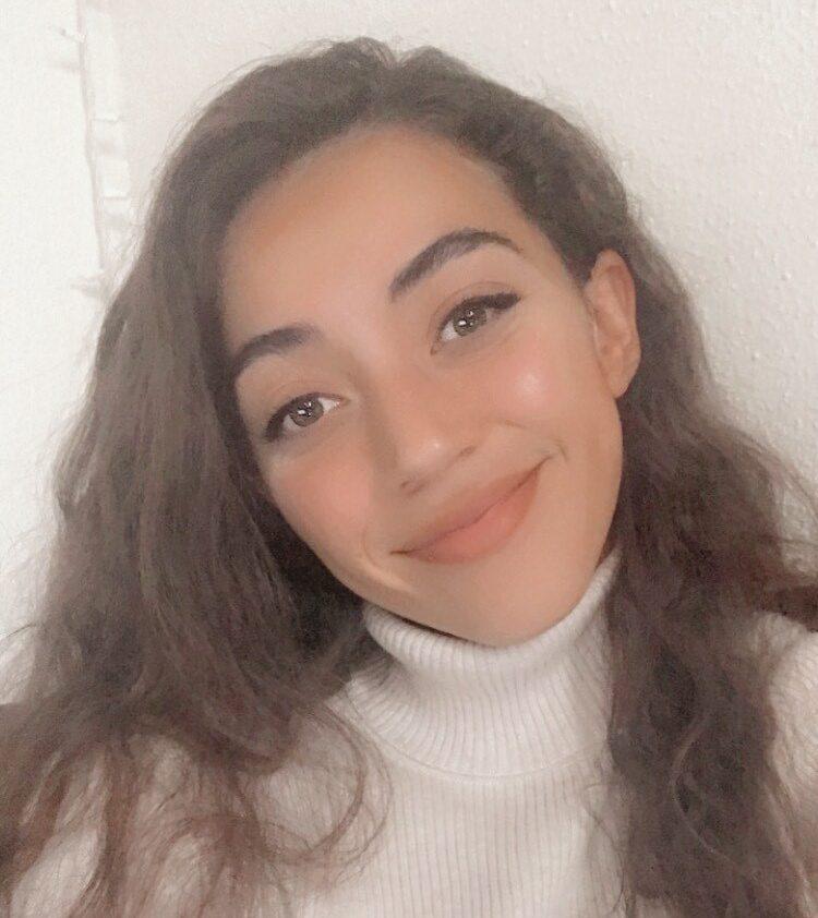 Rkia Talbi smiling at the camera