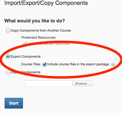 Export Components Image