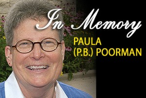 memoriam photo of Paula Poorman