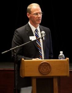 UW-Platteville Asst. Chancellor Robert Cramer
