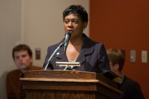 UW-Milwaukee Vice Chancellor Christy Brown