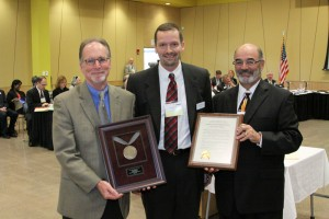 Regent Troy Sherven receivies Resolution of Appreciation