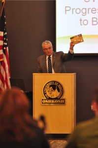 UW-Oshkosh Chancellor  Richard Wells
