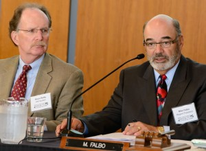 President Reilly and Regent President Falbo