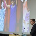 Chancellor Van Galen addresses the Regents