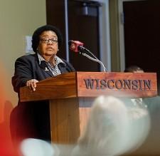 Photo of Jacqueline DeWalt, Executive Director of UW-Madison's PEOPLE, 2014 Diversity Award program winner