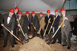 Regents attended a groundbreaking ceremony for new campus facilities at  UW-Parkside