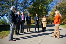 Regents tour UW-Platteville campus