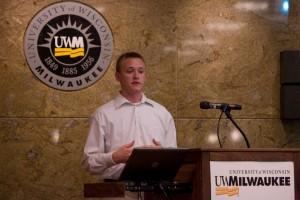 UW-Madison student T.J. Madsen