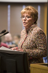 UW-Stevens Point Chancellor Linda Bunnell