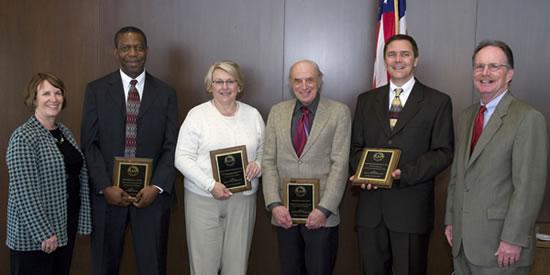Underkofler Excellence in Teaching Award winners