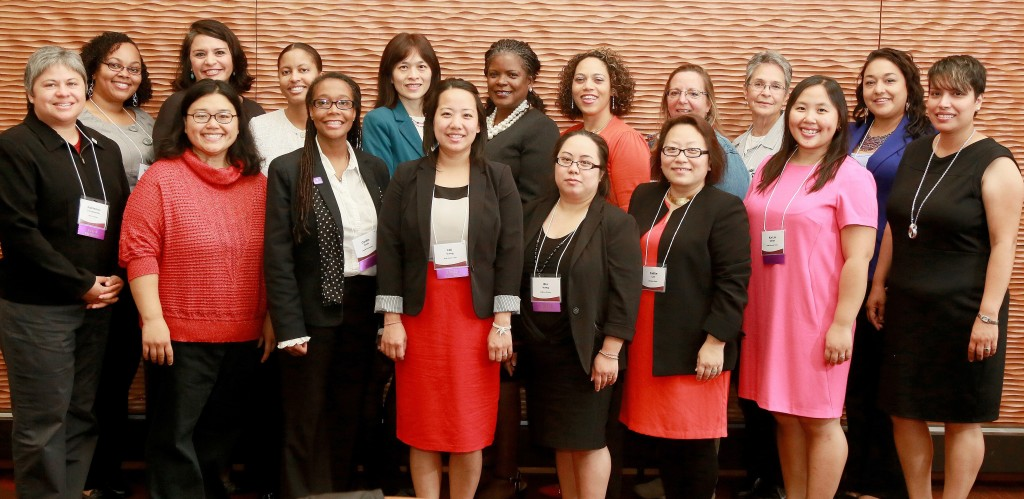 Recipients of 2015 Outstanding Women of Color in Education Award
