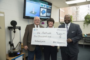 AT & T $5,000 grant given to UW-Parkside in the Maker's Space.