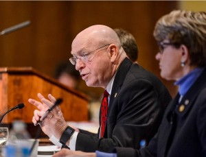 UW System President Ray Cross speaks during a UW System Board of Regents meeting at Union South at the University of Wisconsin-Madison on Feb. 5, 2016. (Photo by Jeff Miller/UW-Madison)