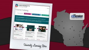 University Learning Store website