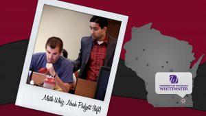 UW-Whitewater student Noah Padgett
