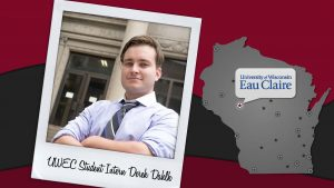 UWEC Intern Derek Dahlk