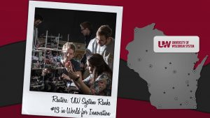 Reuters: UW System ranks #13 in the world for innovation