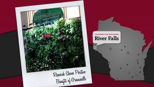 UW-River Falls greenwall research