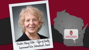 Director Maury Cotter - UW-Madison's Office of Quality Improvements earns international recognition